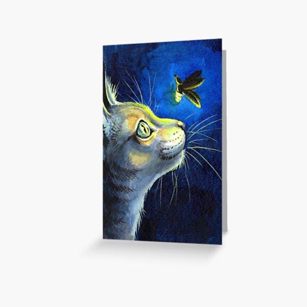 The Glowbug Greeting Card