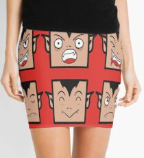 Dracula Faces! Mini Skirt