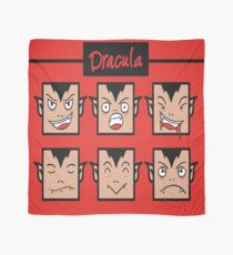 Dracula Faces! Scarf