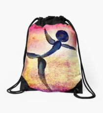Dance Like You Are Flying... Drawstring Bag