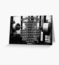 The Protein Prayer Greeting Card