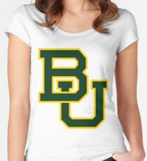 Baylor Fitted Scoop T-Shirt