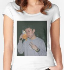 Rich Chigga Chips Women's Fitted Scoop T-Shirt