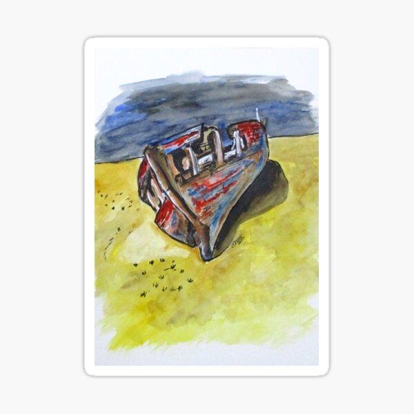 Junk Fishing Boat Sticker