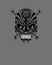 The Devil Inside - Cool Skull Vector Design by Denis Marsili