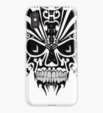 The Devil Inside - Cool Skull Vector Design iPhone Case/Skin
