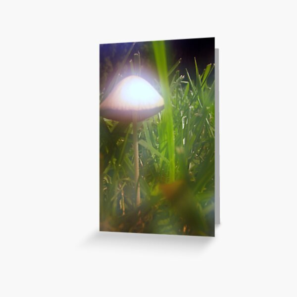Psychedelic Mushroom Greeting Card
