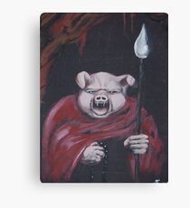 Embodiment of Darkness Canvas Print