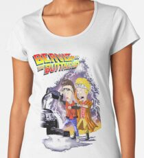 Beavis & Butthead: BTTF Women's Premium T-Shirt