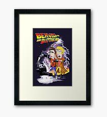 Beavis & Butthead: BTTF Framed Print