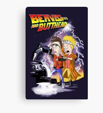 Beavis & Butthead: BTTF Canvas Print