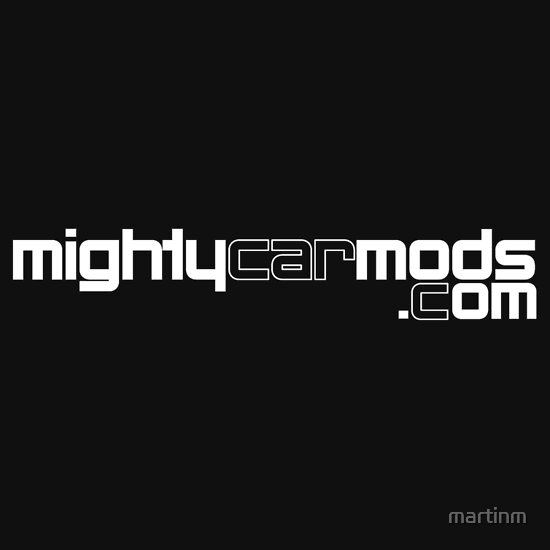 TShirtGifter presents: Mighty Car Mods - Simple Logo (for dark shirts)