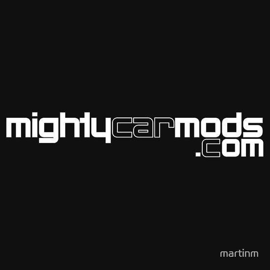 TShirtGifter presents: Mighty Car Mods - Simple Logo (for dark shirts)