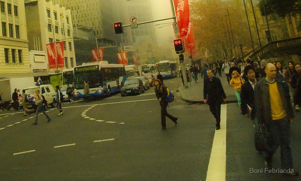 Cold Winter Sydney Morning by Boni Febrianda