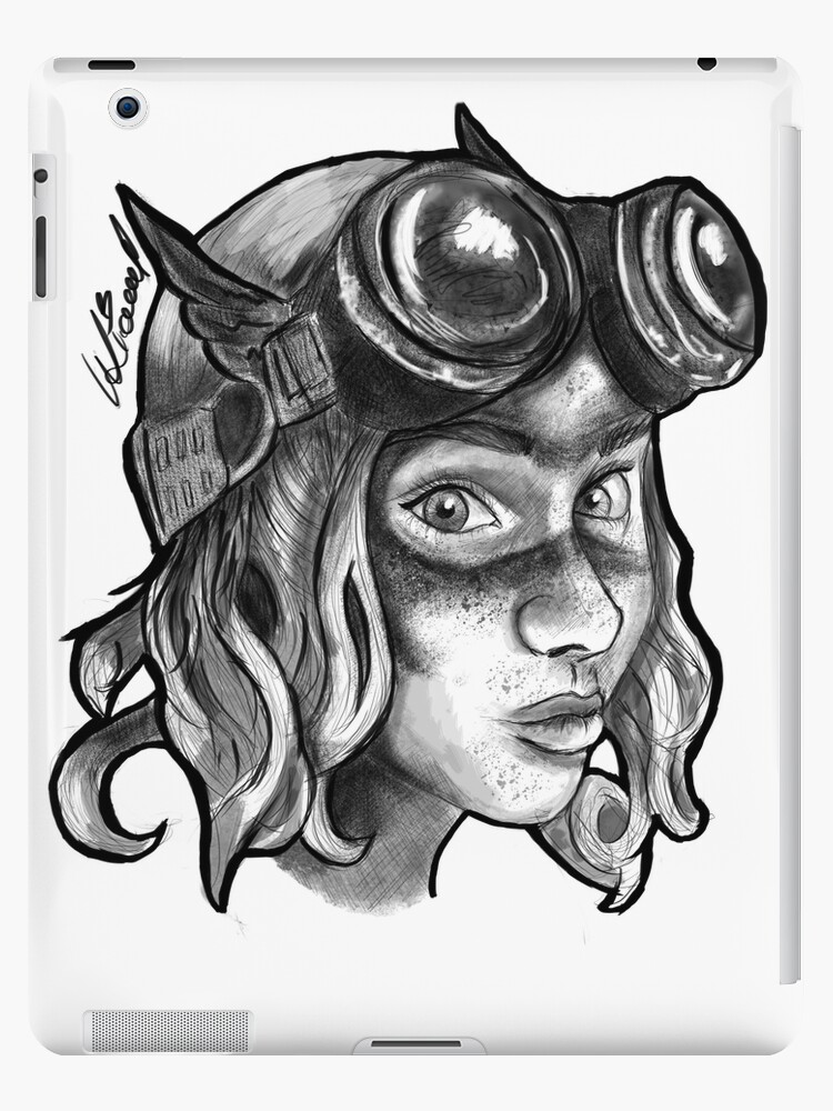 Goggle Girl. by Ursula Liewald