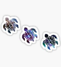 Turtle Stickers - Galaxy 2 Sticker