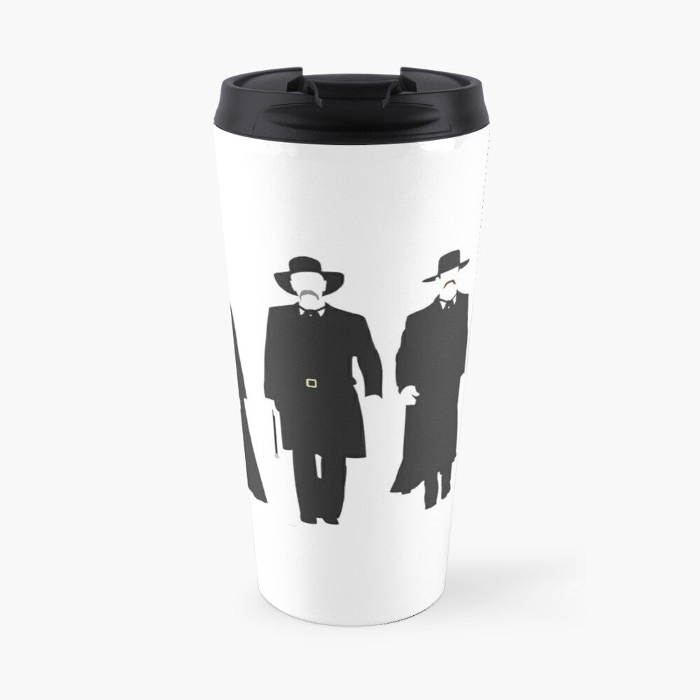 Tombstone: Justice is Coming Travel Mug