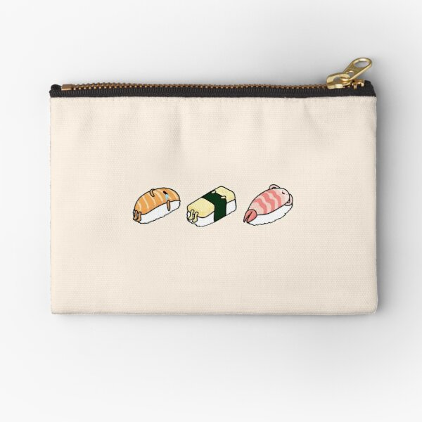Sushi Bed - 3 Pack Zipper Pouch