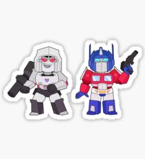 Megop Chibis Sticker