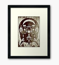 Abstract Sepia  Framed Print