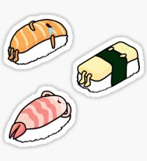 Sushi Bed - 3 Pack Sticker