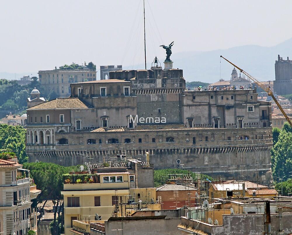 Castel Sant'Angelo  by Memaa