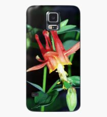 Red Columbine Case/Skin for Samsung Galaxy
