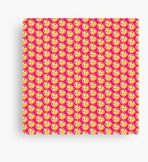 Pink Ducky Momo Canvas Print
