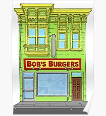 Bobs Burgers Building Poster
