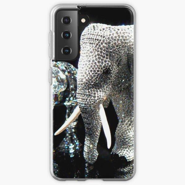Swarovski Elephants Samsung Galaxy Soft Case