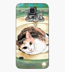 Catrina in the Sink Case/Skin for Samsung Galaxy