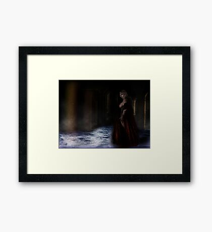 Satan's Angel 2 Framed Print