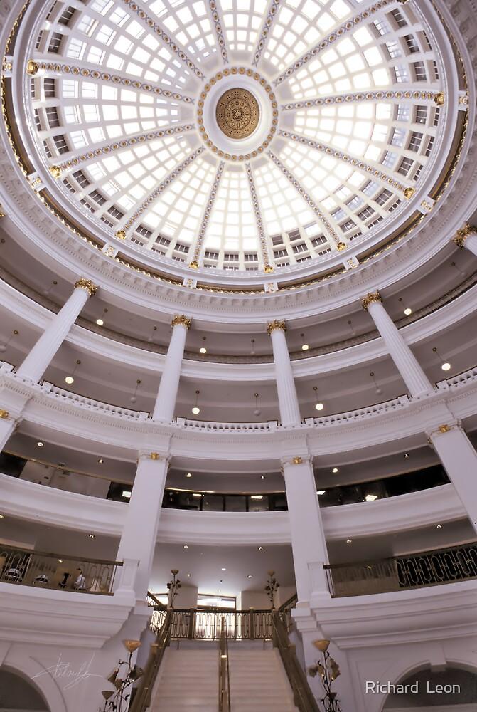 Oakland's Rotunda by Richard  Leon