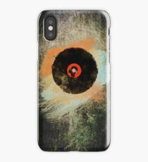 Vinyl Record Retro T-Shirt - Vinyl Records New Grunge Design iPhone Case