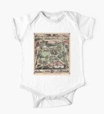 Map Of Central Park, New York 1869 Kids Clothes