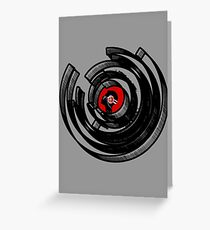 Vinylized! - Vinyl Records - New Modern design Greeting Card