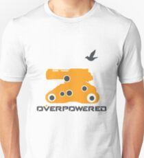 OverPowered Bastion Tank Formation Unisex T-Shirt