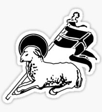 Agnus Dei (Lamb of God) Sticker