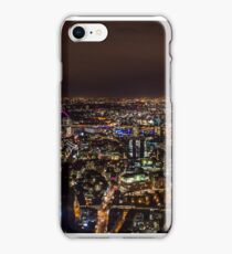 London skyline by night iPhone Case/Skin