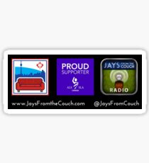 Jays From the Couch vs ALS Sticker