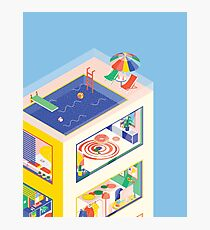 ISOMETRIC BUILDING Photographic Print