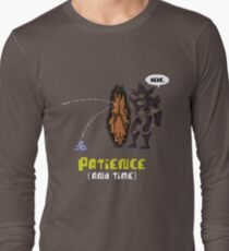 Hive Knight Patience Long Sleeve T-Shirt
