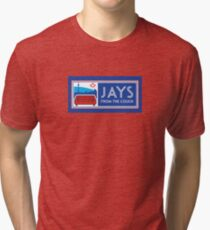Jays From the Couch Merchandise Tri-blend T-Shirt
