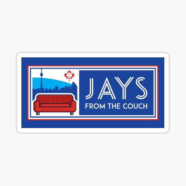 Jays From the Couch Merchandise Sticker