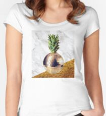 ananas party limited edition Women's Fitted Scoop T-Shirt