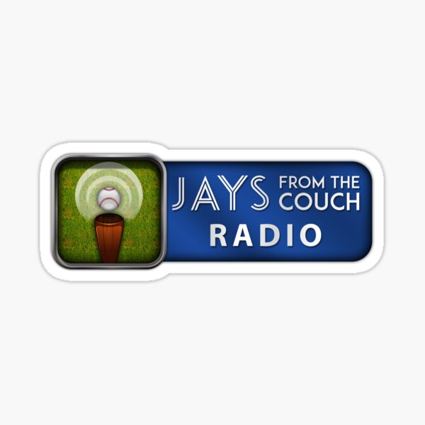 Jays From the Couch Radio Sticker