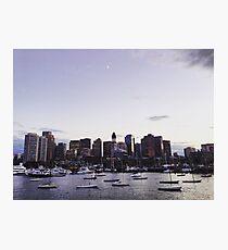Boston Harbor at Twilight Photographic Print