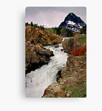 Glacier NP Stream 1 Canvas Print