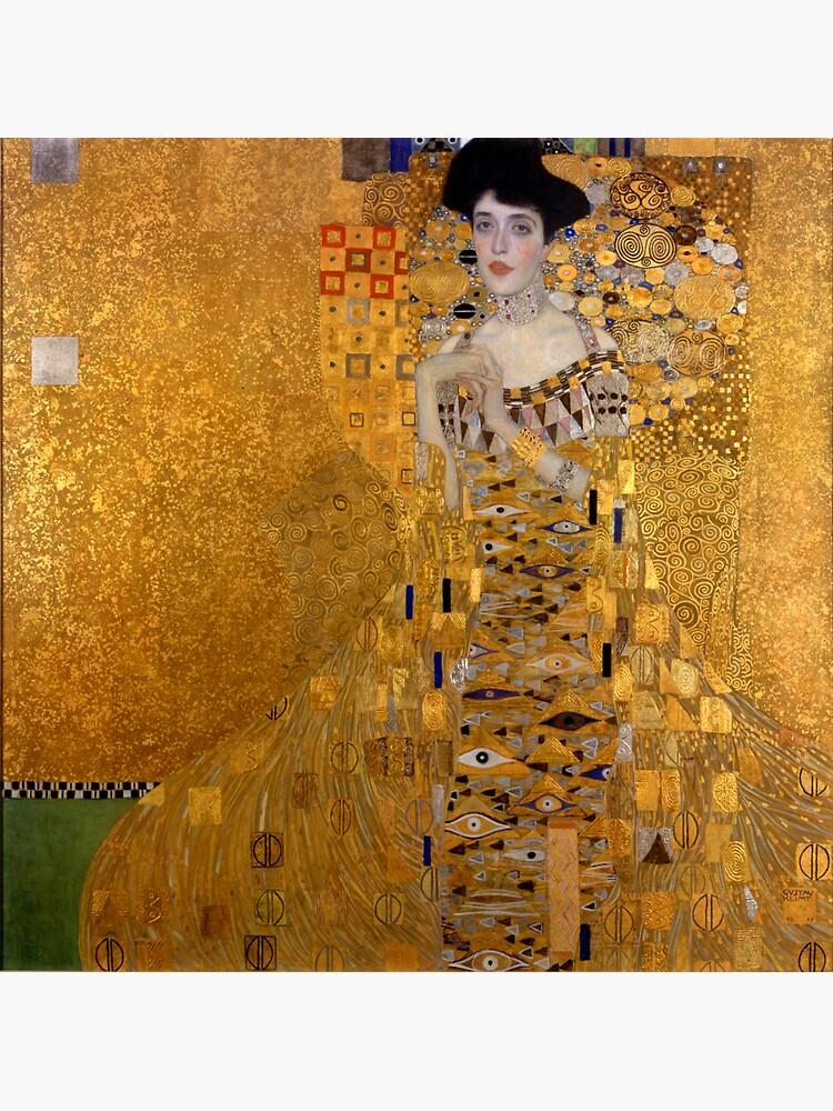 Adele Bloch Bauer by Gustav Klimt  by podartist
