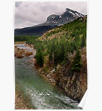 Glacier NP Stream 2 Poster
